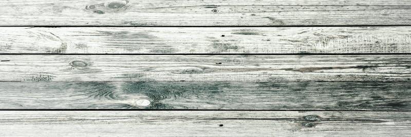 白色有机木纹理 背景轻木 老被洗涤的木头 免版税库存照片