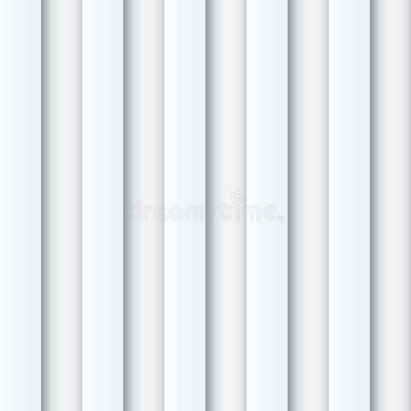 白色有肋骨墙壁背景。 向量例证