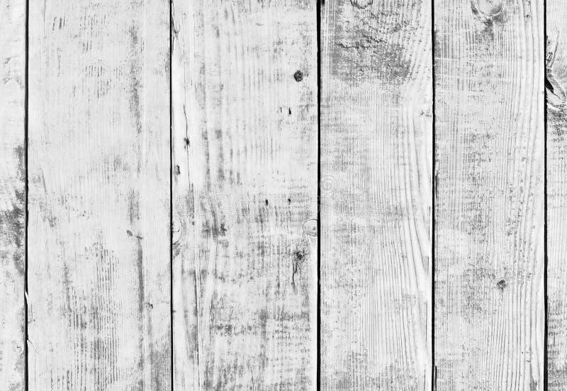 白色木头或木葡萄酒板条地板或者墙壁 库存照片