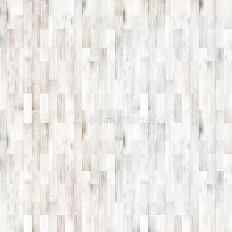 白色木木条地板地板纹理。+ EPS10 向量例证