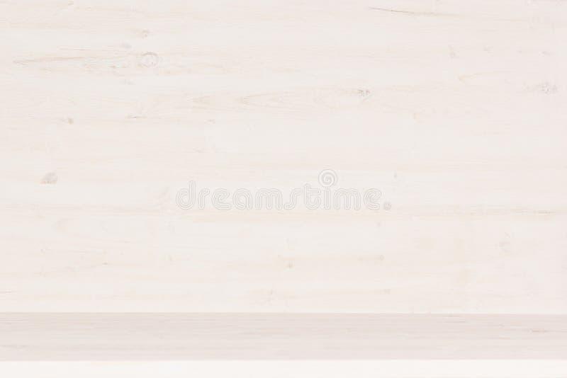 白色木架子纹理 库存照片