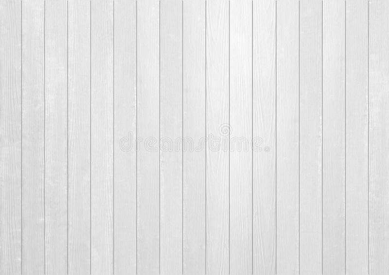 白色木纹理 库存照片