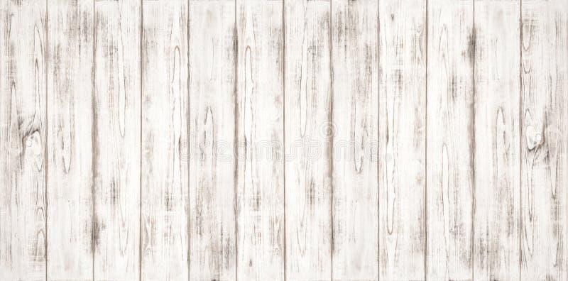 白色木背景纹理自然样式 免版税库存照片