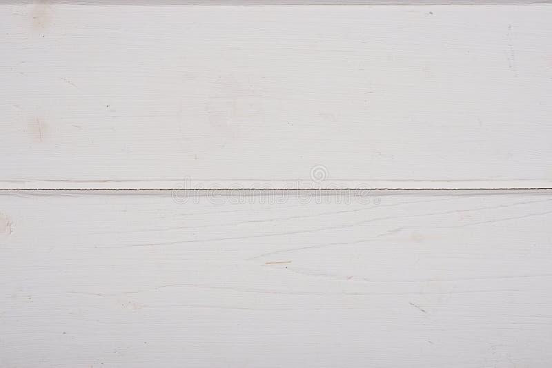 白色木背景纹理 图库摄影