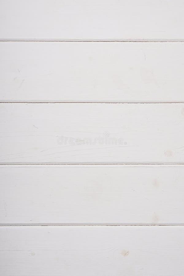 白色木背景纹理 免版税库存照片