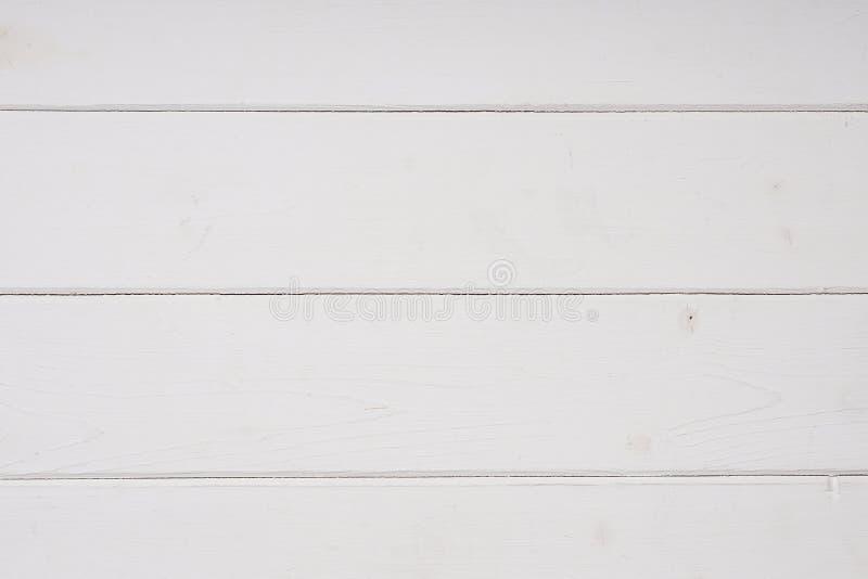白色木背景纹理 库存图片
