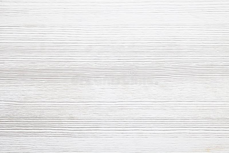 白色木背景 免版税库存照片