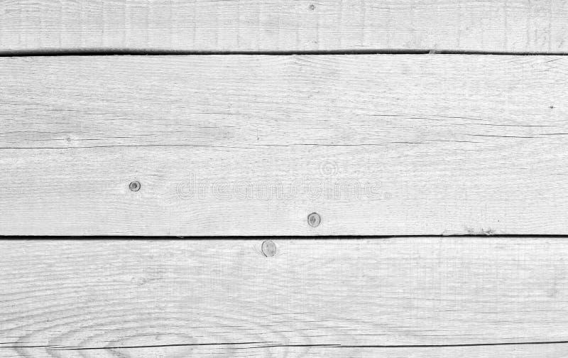 白色木葡萄酒板条地板墙壁表面 库存照片