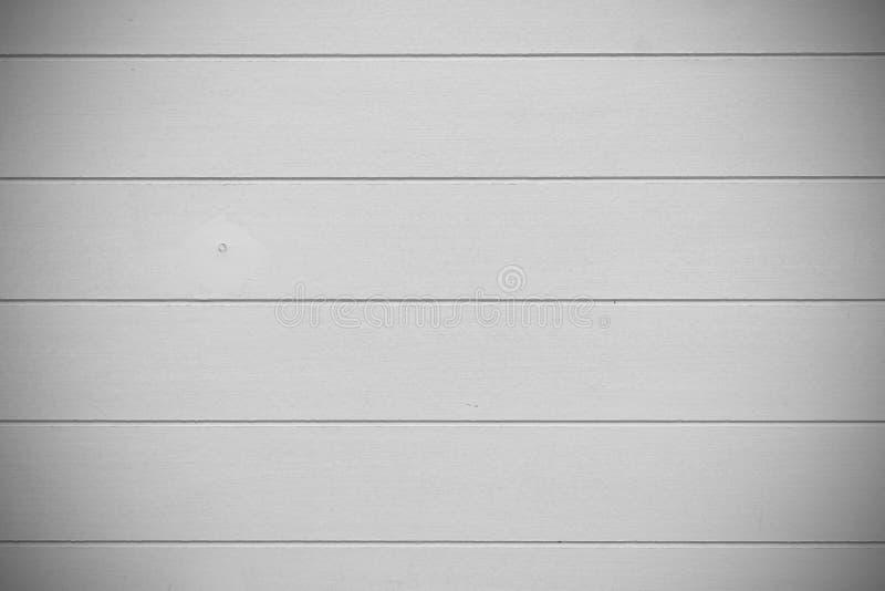 白色木头织地不很细水平的背景 免版税库存图片