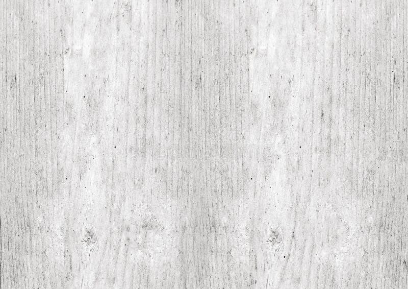 白色木织地不很细木纹背景; 免版税库存图片
