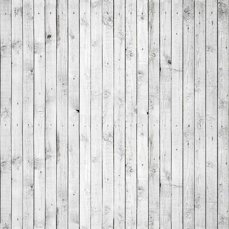 白色木头无缝的背景纹理  免版税库存图片