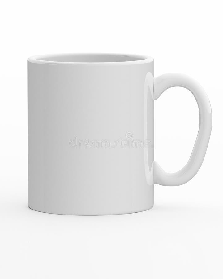 Download 白色杯子 库存例证. 插画 包括有 查出, 影子, 容器, 没人, 陶瓷, 把柄, 热奶咖啡, 背包, 空白 - 30327524