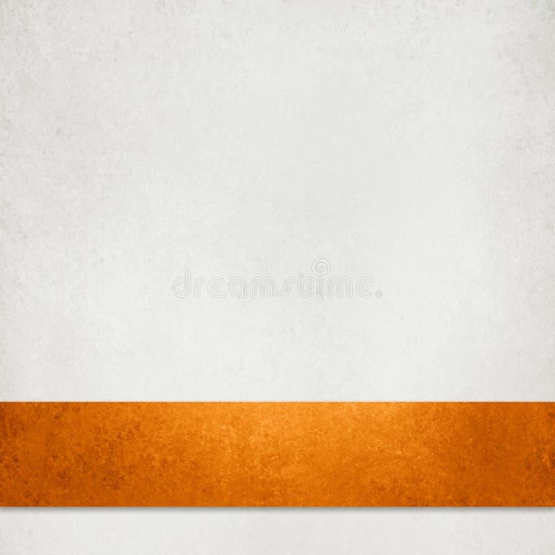 白色构造了纸背景、万圣节秋天秋天或者感恩背景 向量例证