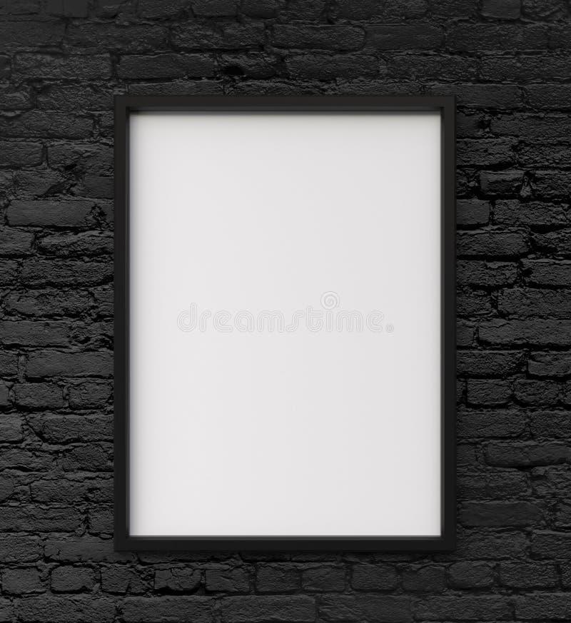 白色框架 库存图片