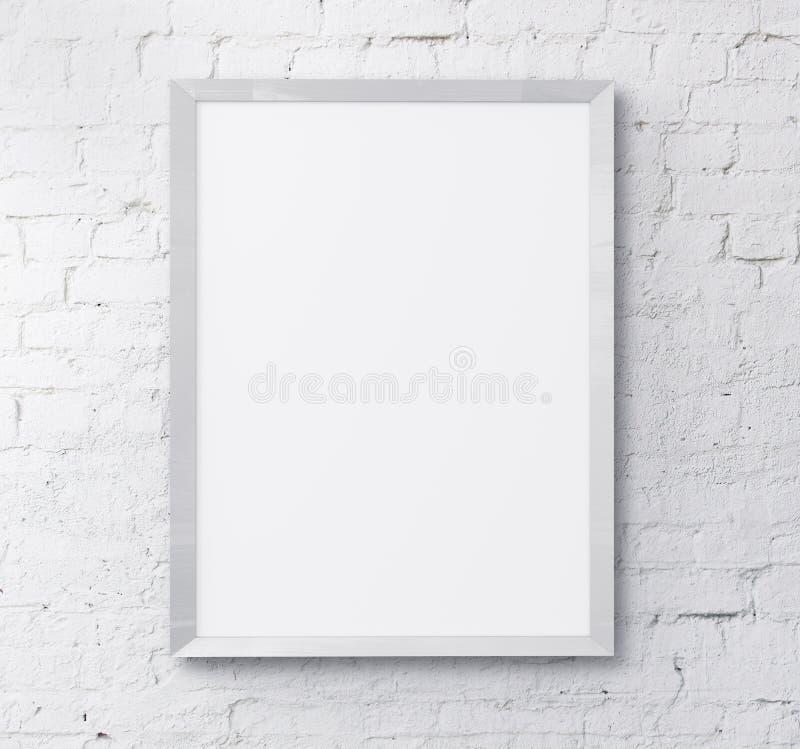 白色框架 免版税库存图片