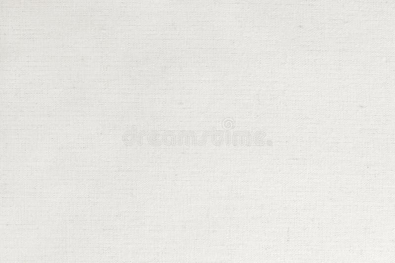 白色棉织物纹理背景,自然纺织品的无缝的样式 免版税库存照片