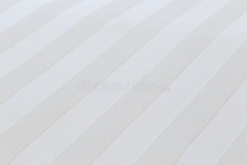 白色棉花板料背景的特写镜头 免版税图库摄影