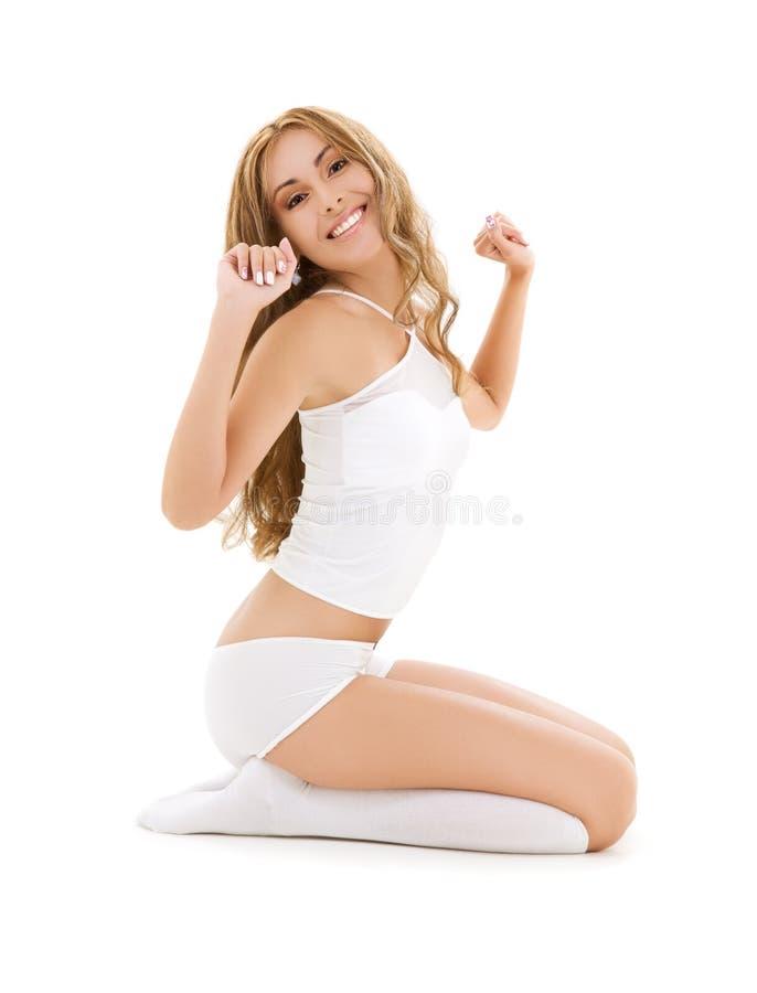 白色棉花 免版税库存照片