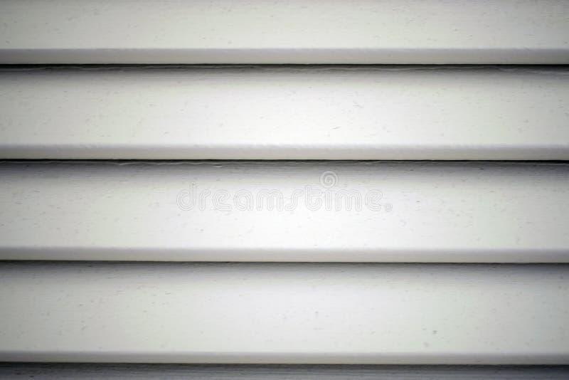 白色水平的窗帘 免版税库存图片