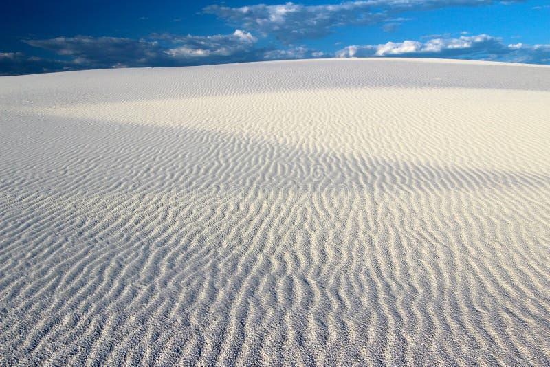 白色沙丘国家历史文物,新墨西哥,美国 库存图片