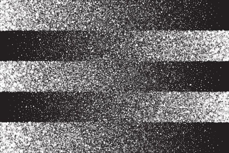 白色淡光发光的圆的微粒传染媒介背景 皇族释放例证