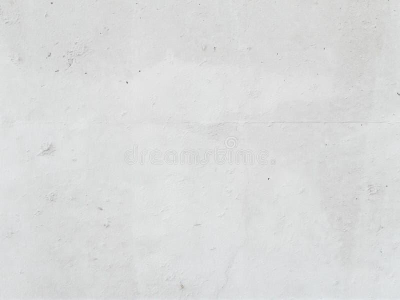 白色混凝土墙和地板当背景纹理 免版税图库摄影