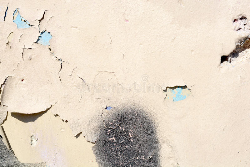 白色混凝土墙纹理 免版税库存图片