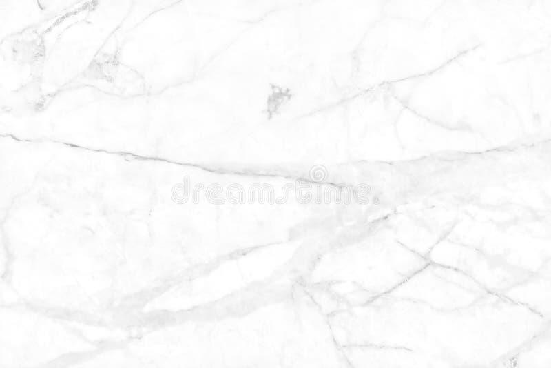 白色灰色大理石纹理背景有自然瓦片石头高分辨率,顶视图在豪华和无缝的闪烁样式的 免版税库存照片