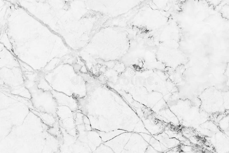 白色灰色大理石纹理背景 免版税库存照片