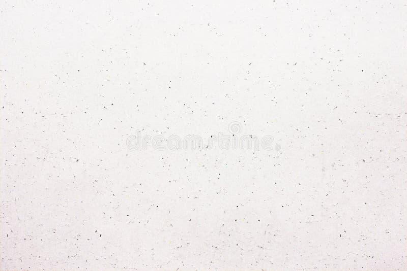 白色灰色难看的东西纸纹理 免版税库存图片