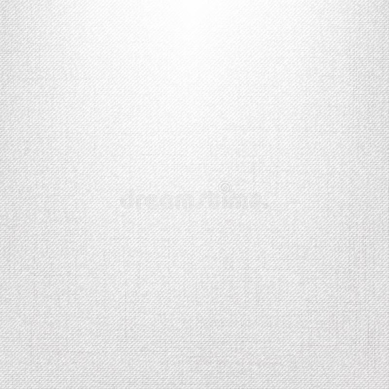 白色牛仔裤纹理 向量例证