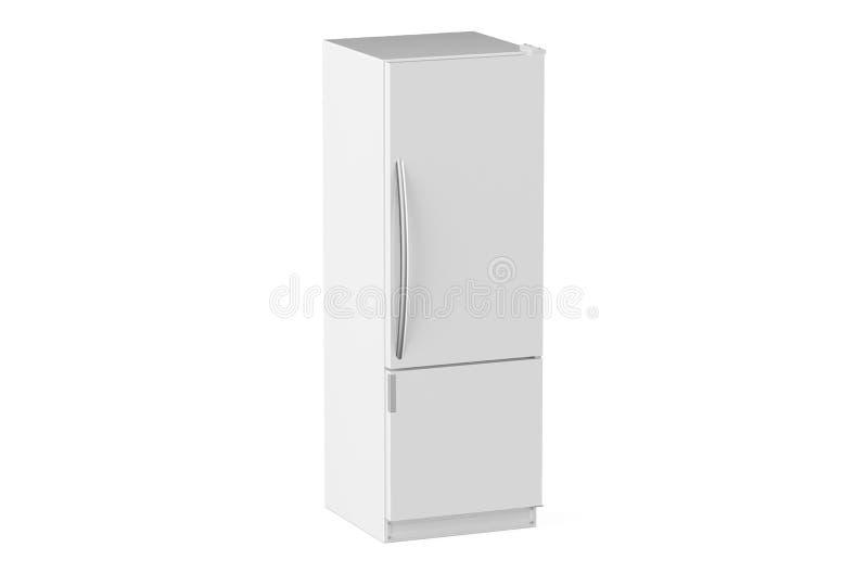 白色现代冰箱 向量例证