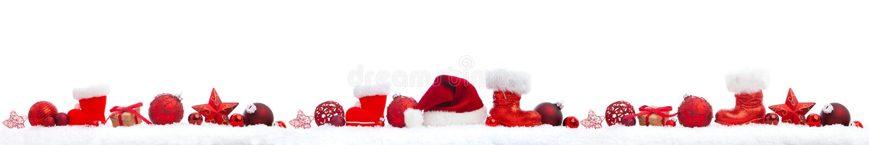白色的圣诞节全景 向量例证