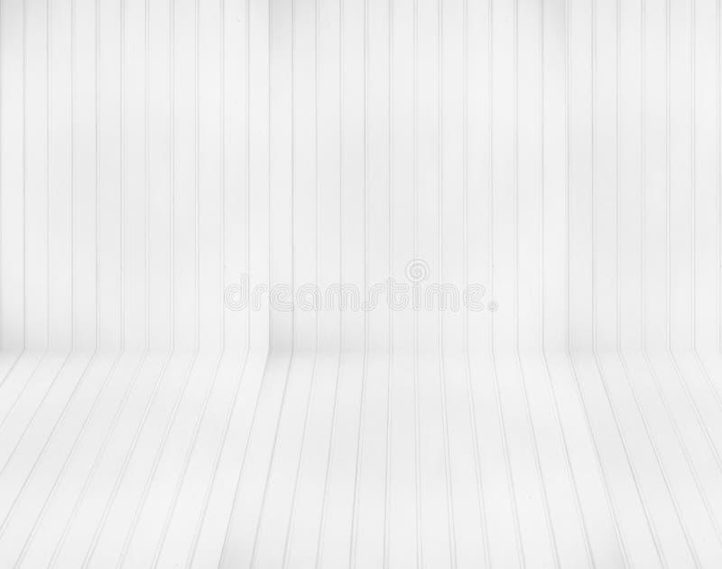白色盘区墙壁背景 库存图片