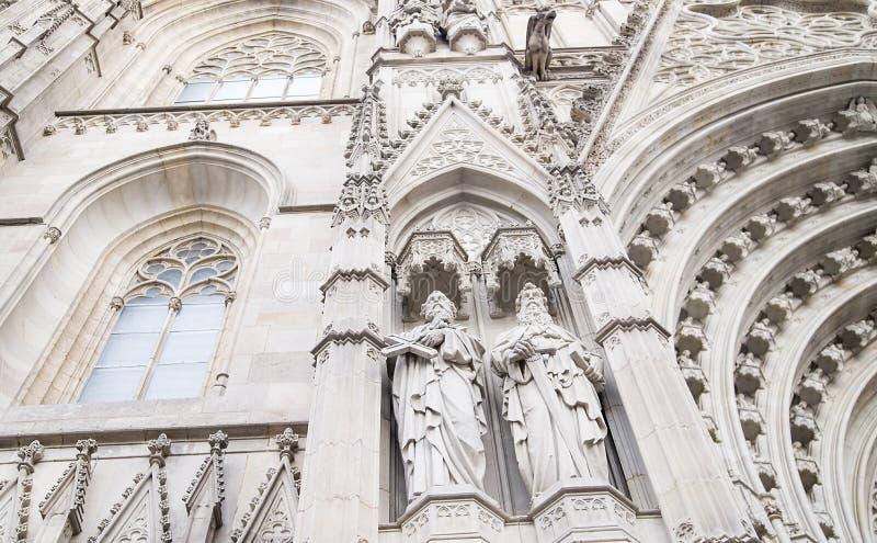 白色石头的雕刻的构成 免版税库存照片