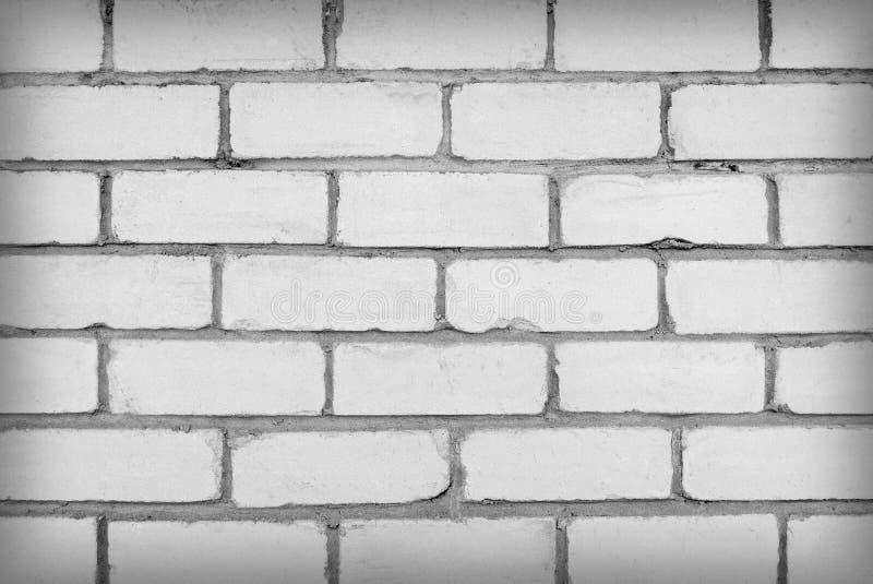 白色砖墙壁 免版税库存照片