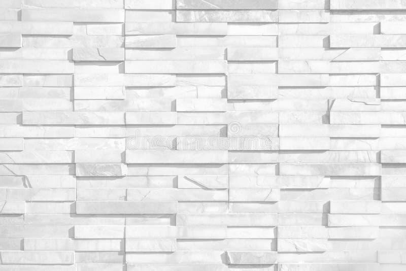 白色砖墙纹理  形象艺术的典雅的墙纸设计 E 图库摄影