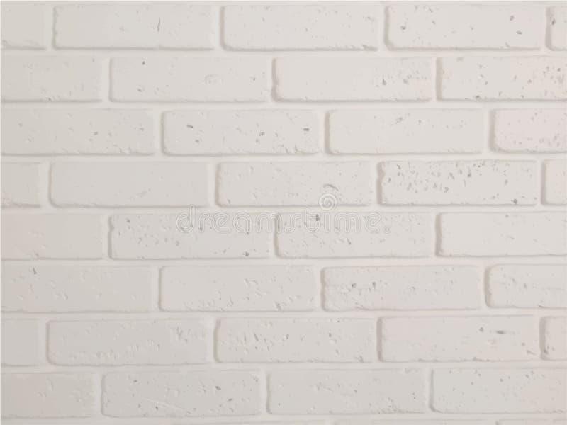 白色砖墙,背景仇敌您的设计 向量例证