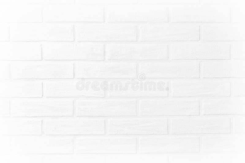 白色砖墙水平的照片墙纸在屋子里 Scandin 图库摄影