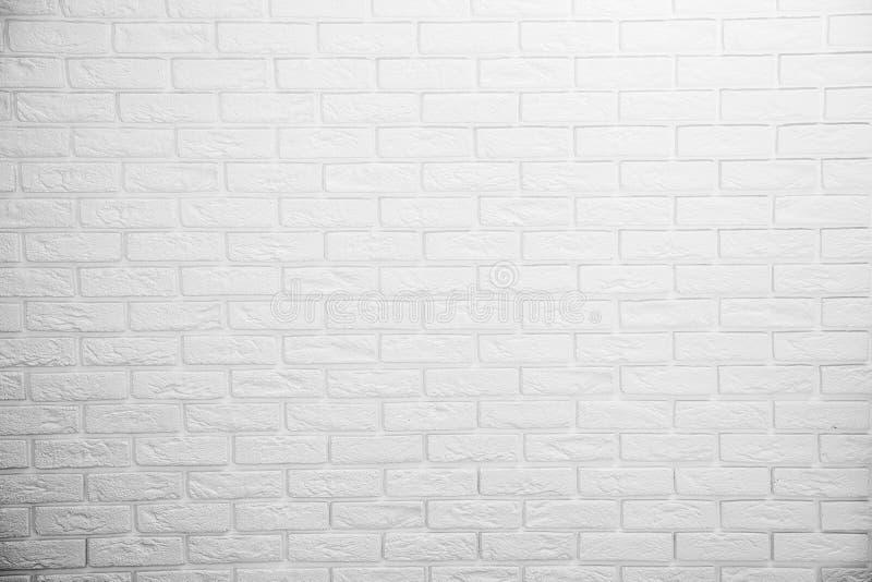 白色砖墙 免版税图库摄影