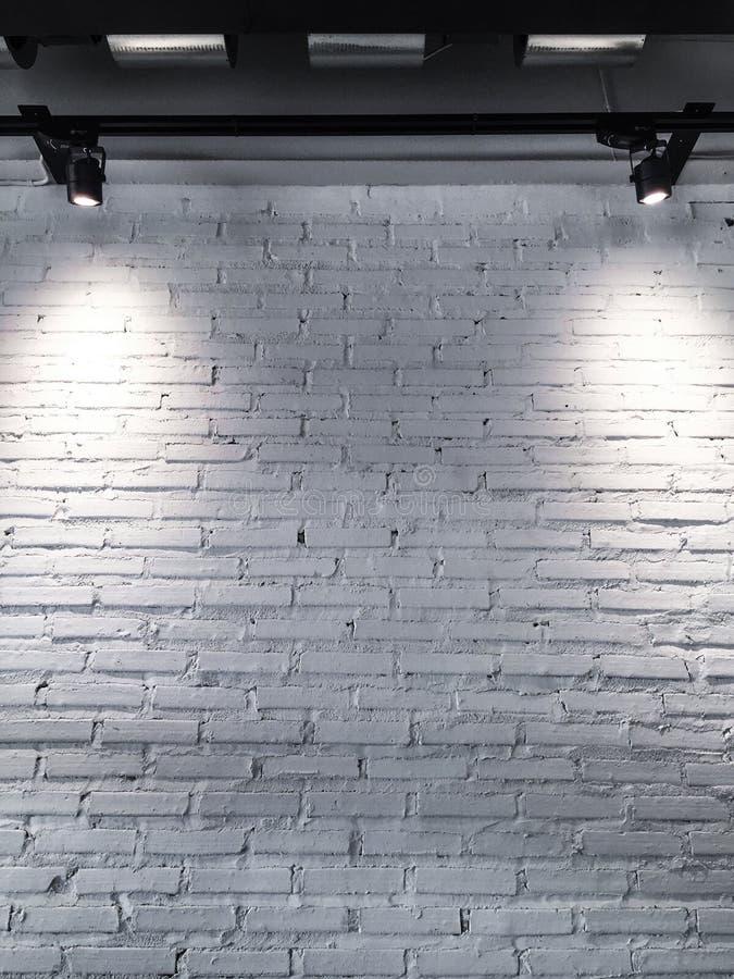 白色空间墙壁 免版税库存照片
