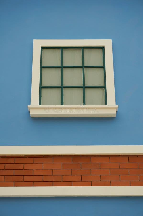 白色窗口 库存图片