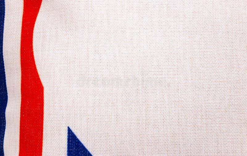 白色粗麻布纺织品纹理背景 五颜六色的织品框架或现代概念布料材料 库存图片