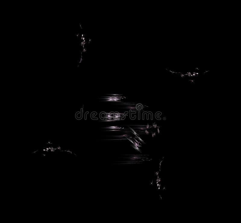 白色紫色分数维背景 幻想分数维纹理 abstact艺术深深数字式红色转动 3d翻译 计算机生成的图象 皇族释放例证