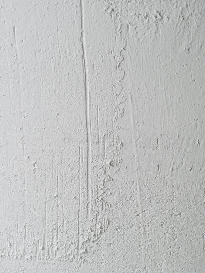 白色纹理墙壁背景 免版税库存照片