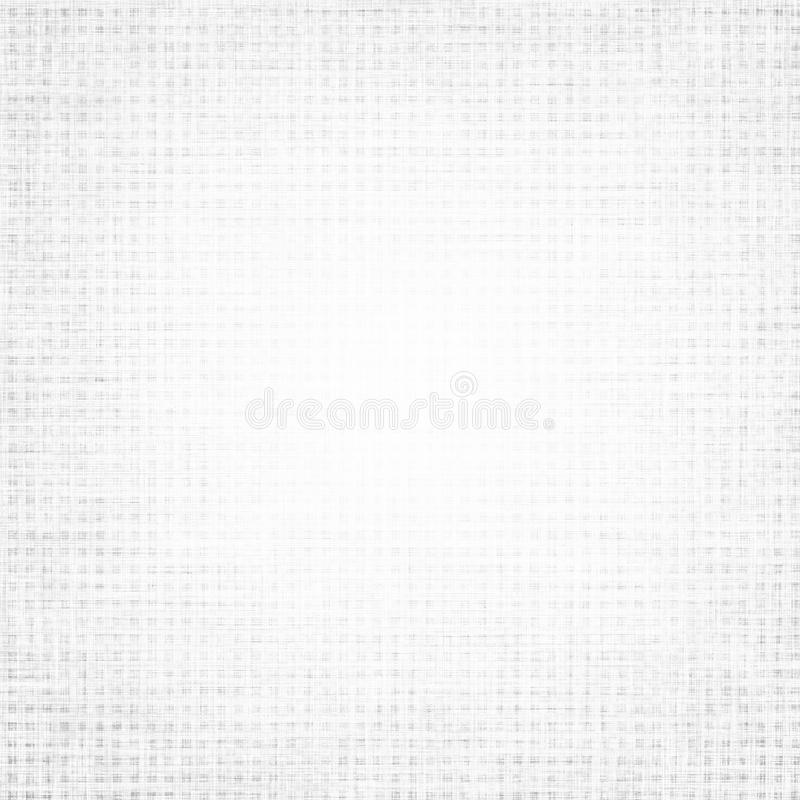 白色背景帆布纹理精美网格图形 向量例证