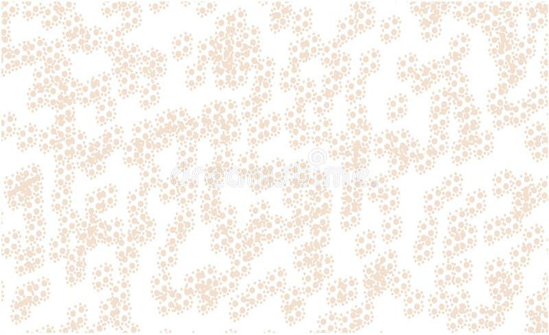 白色背景样式金球 皇族释放例证