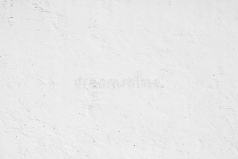 白色背景混凝土墙纹理 库存图片