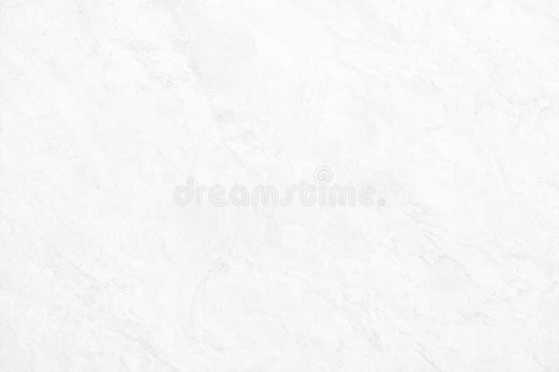 白色背景设计的墙壁具体油漆概略的高分辨率背景纹理  免版税库存图片
