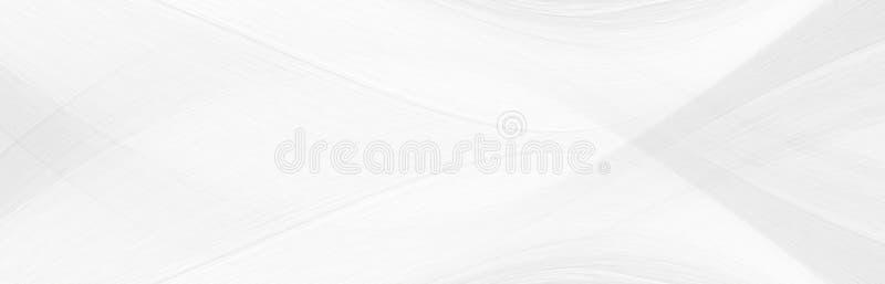 白色背景3与波浪的元素的d在一个意想不到的抽象设计的, 免版税库存图片